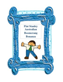Flat Stanley:  Australian Boomerang Bonanza