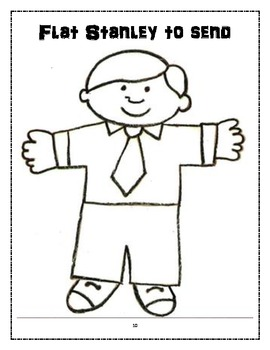 Flat Stanley Author Study and Project Materials