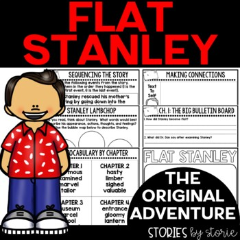 Flat Stanley Book Questions and Vocabulary