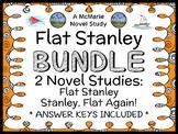 Flat Stanley BUNDLE (Jeff Brown) 2 Novel Studies / Comprehension  (47 pages)
