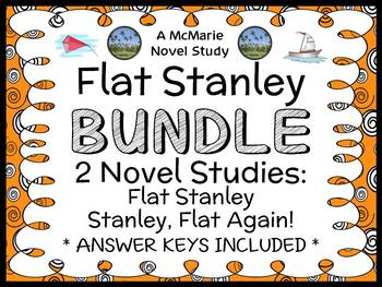 Flat Stanley BUNDLE (Jeff Brown) 2 Novel Studies / Comprehension  (47 pages)