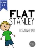 Flat Stanley Novel Unit for Grades 3-6 Common Core Aligned