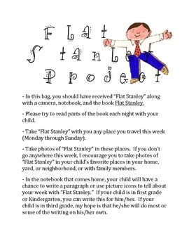 Flat Stanley Chapter Book Unit