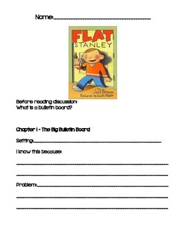 Flat Stanley Chapter Study