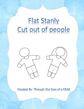 Flat Stanley - Child Cutout Silhouette