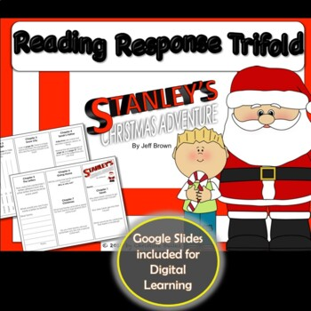 Flat Stanley Christmas Adventure Reading Response Trifold