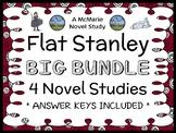 Flat Stanley Collection (Jeff Brown) 4 Novel Studies / Reading Comprehension