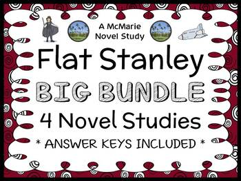 Flat Stanley Collection (Jeff Brown) 4 Novel Studies / Reading Comprehension