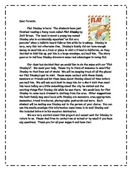 Flat Stanley - Complete Project Packet