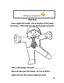 Flat Stanley Comprehension Questions