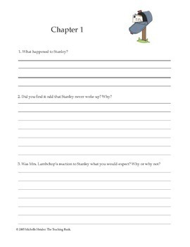 Flat Stanley Comprehension and Assessment Bundle