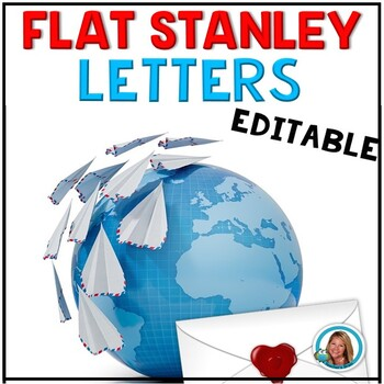 Flat Stanley  FREE Editable Letters