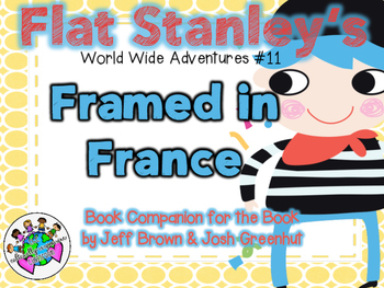 """Flat Stanley's """"Framed in France"""" Book Companion"""