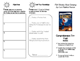 Flat Stanley Goes Camping Comprehension Tri-fold