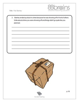 Flat Stanley Guided Reading Plans (Common Core Aligned)