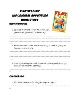 Flat Stanley- His Original Adventure- Book Study