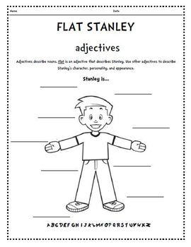 Flat Stanley Template Blank from ecdn.teacherspayteachers.com