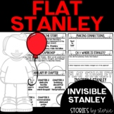 Flat Stanley: Invisible Stanley Book Questions and Vocabulary