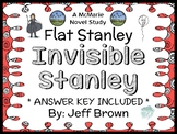 Flat Stanley: Invisible Stanley (Jeff Brown) Novel Study / Reading Comprehension