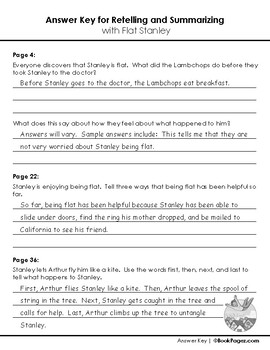 Flat Stanley Lesson Plans & Activities Package, 2nd Grade (CCSS)