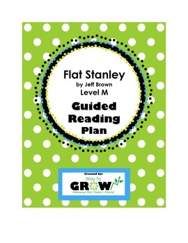 Flat Stanley Level M Guided Reading Plan