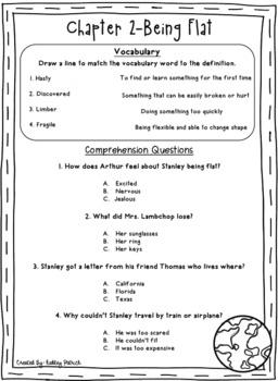 Flat Stanley Literacy Unit