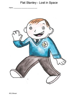 Flat Stanley - Lost in Space by Jeff Brown
