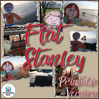 Flat Stanley Novel Study Book Unit and ELA/Math Activity Pack Printable Version