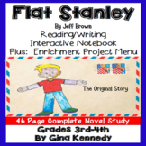 Flat Stanley Novel Study and Enrichment Project Menu