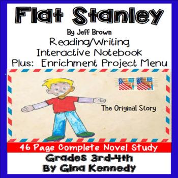 Flat Stanley Novel Study and Enrichment Project Menu