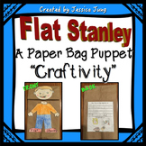Flat Stanley - Paper Bag Puppet Craftivity