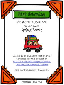 Flat Stanley Postcard Journal