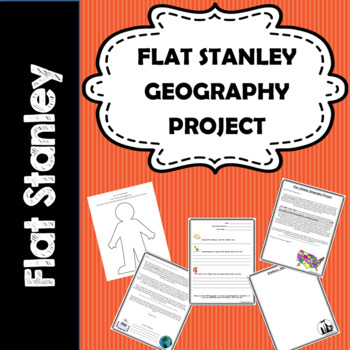 Flat Stanley Project Letters- 1st, 2nd, 3rd, 4th, 5th