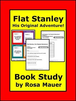 Flat Stanley His Original Adventure By Rosa Mauer Tpt