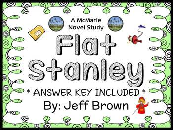 Flat Stanley (Jeff Brown) Novel Study / Reading Comprehension  (22 pages)