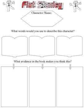 Flat Stanley Reading Response or Literature Circle Packet