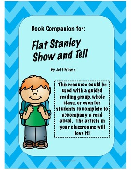 Flat Stanley Show and Tell - Book Companion