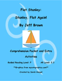 Flat Stanley: Stanley, Flat Again by Jeff Brown Comprehension Packet
