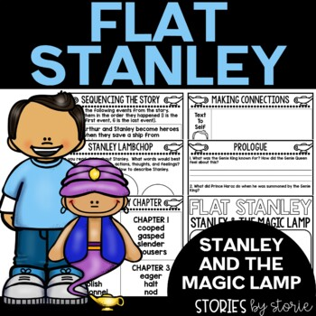 Flat Stanley: Stanley and the Magic Lamp Book Questions and Vocabulary