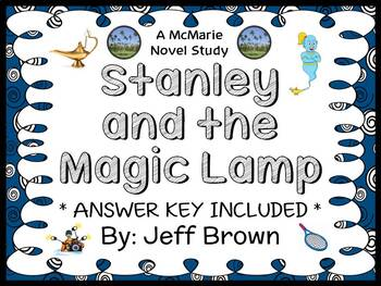 Flat Stanley: Stanley and the Magic Lamp (Brown) Novel Stu