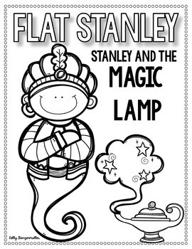 Flat Stanley: Stanley and the Magic Lamp Novel Companion and Flip Book Bundle