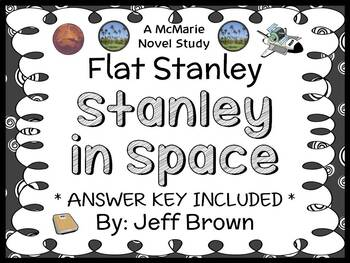 Flat Stanley: Stanley in Space (Jeff Brown) Novel Study / Reading Comprehension