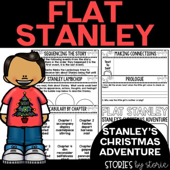 Flat Stanley: Stanley's Christmas Adventure Book Questions and Vocabulary