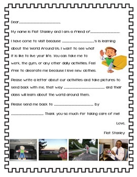 Flat Stanley Take Home Project