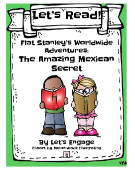 Flat Stanley The Amazing Mexican Secret: Let's Read! (Reading Response GR N)