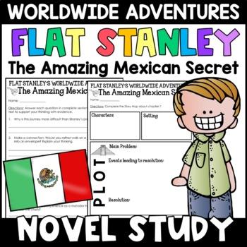 Flat Stanley: The Amazing Mexican Secret Novel Study