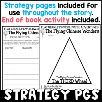 Flat Stanley: The Flying Chinese Wonders Novel Study