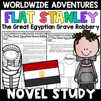 Flat Stanley: The Great Egyptian Grave Robbery Novel Study