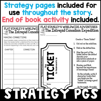 Flat Stanley: The Intrepid Canadian Expedition Novel Study