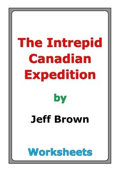 """Flat Stanley """"The Intrepid Canadian Expedition"""" worksheets"""